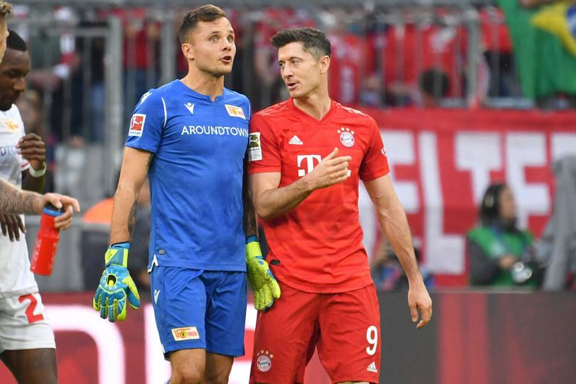 Rafał Gikiewicz (po lewej), Robert Lewandowski (po prawej) /Frank Hoermann/SVEN SIMON/DPA /East News