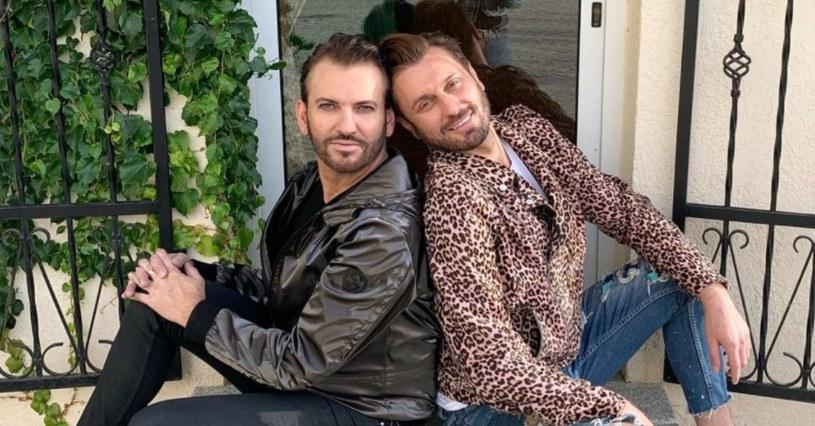 Rafał i Gabriel, fot. https://www.instagram.com/rafalgrabias/ /Instagram