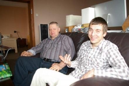 Rafał Kiszko (z prawej) /Gazeta Regionalna