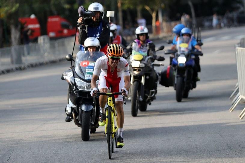 Rafał Majka na igrzyskach olimpijskich w Rio de Janeiro /AFP