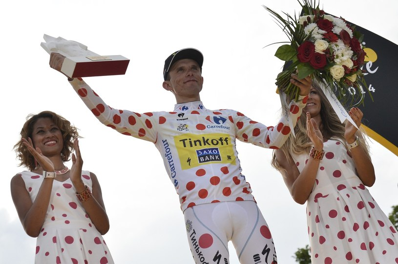 "Rafał Majka najlepszym ""góralem"" Tour de France /AFP"
