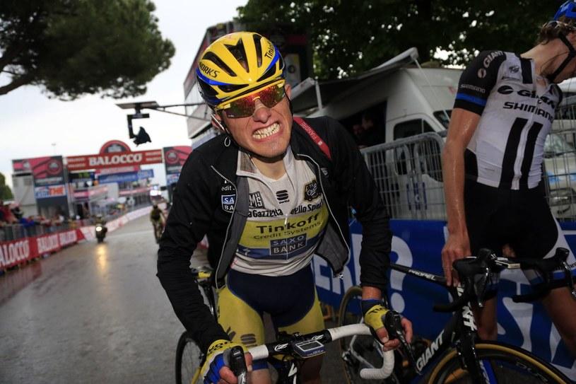Rafał Majka podczas Giro d'Italia /AFP