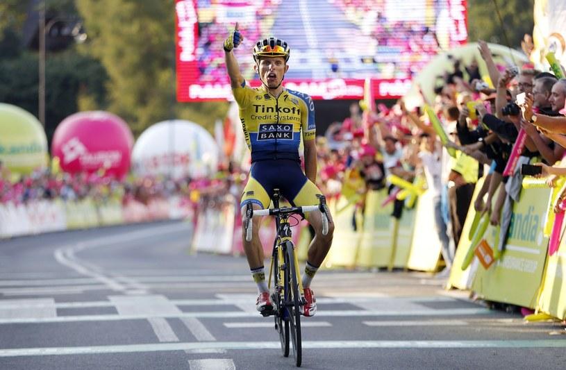Rafał Majka wygrał 71. edycję Tour de Pologne /AFP