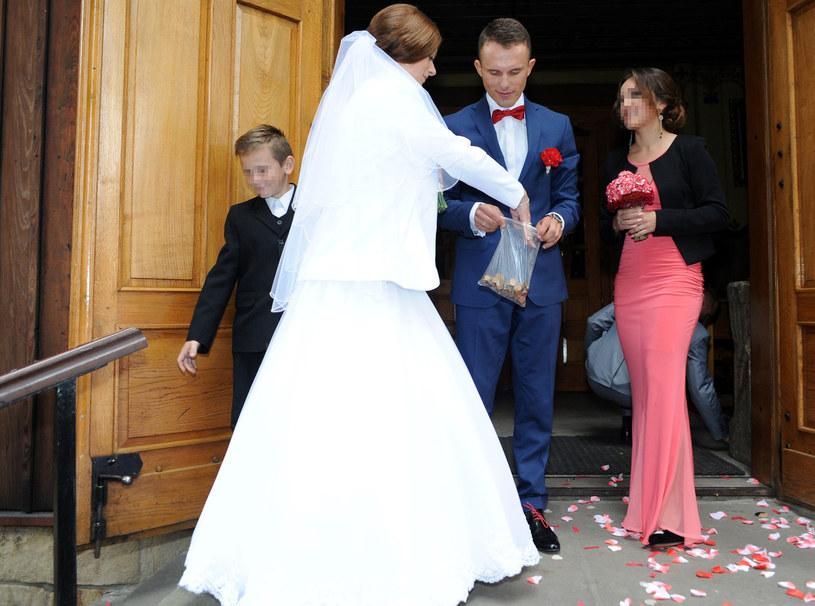 Rafał Majka z żoną /Maciej Gillert /East News