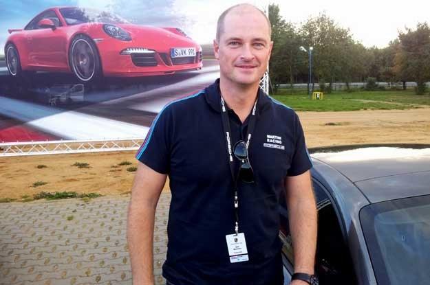 Rafał Markiewicz, dyrektor marki Porsche /INTERIA.PL