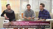 Rafał Maślak: Póki co Olek pracuje w fabryce, modeling będzie lepszą opcją
