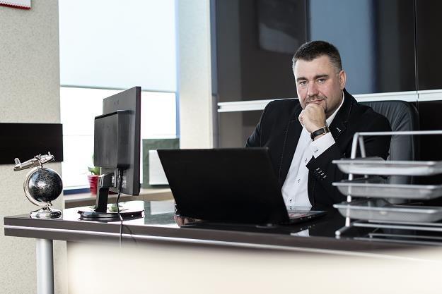 Rafał Michalski, prezes firmy Blachotrapez /Informacja prasowa