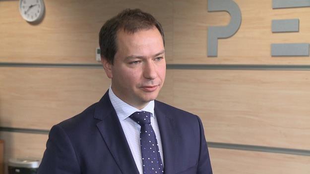 Rafał Miland, wiceprezes zarządu PERN /Newseria Biznes