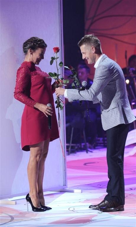 Rafał Mroczek i Anna Mucha /Agencja W. Impact