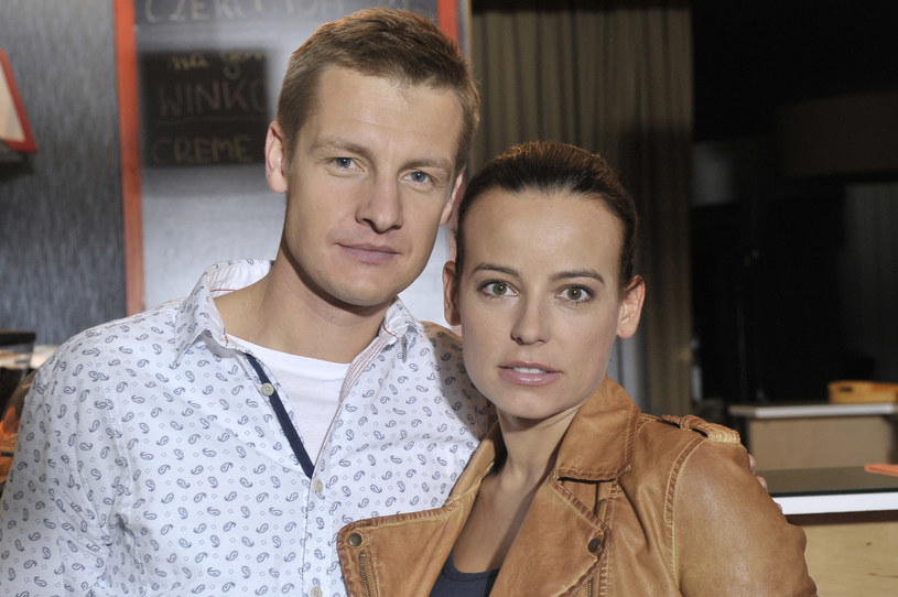 Rafał Mroczek i Anna Mucha /Gałązka /AKPA
