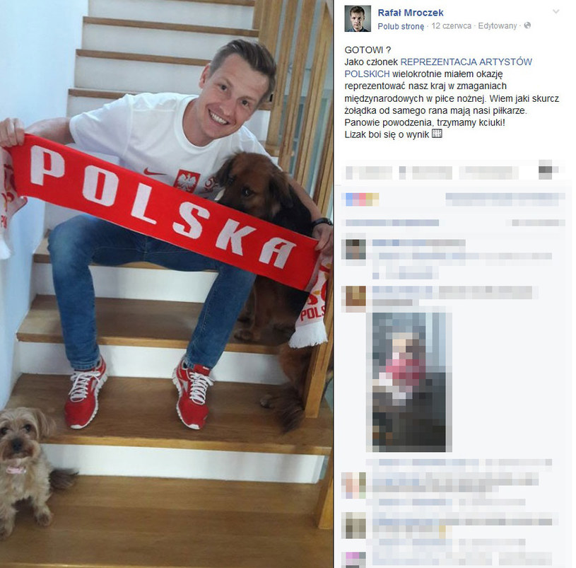 Rafał Mroczek /Facebook /internet