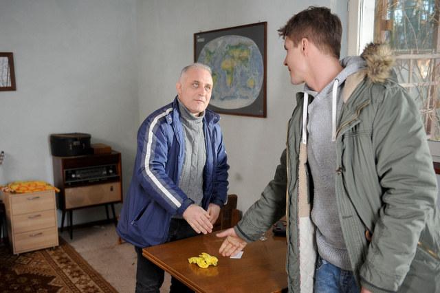 Rafał odwiedzi Marcina w Warszawie i poprosi o pożyczkę. /Agencja W. Impact