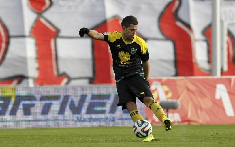 Rafał Pietrzak już za kilka dni może zamienić GKS Katowice na Wisłę Kraków /Jan Kowalski /