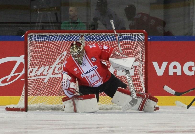 Rafał Radziszewski, bramkarz Comarch Cracovii; fot: Jacek Kozioł /East News