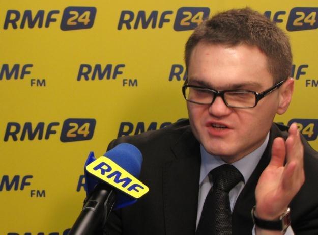 Rafał Rogalski w Kontrwywiadzie RMF FM /RMF