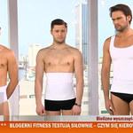 Rafał Sieradzki reklamuje bieliznę wyszczuplającą dla otyłych mężczyzn!