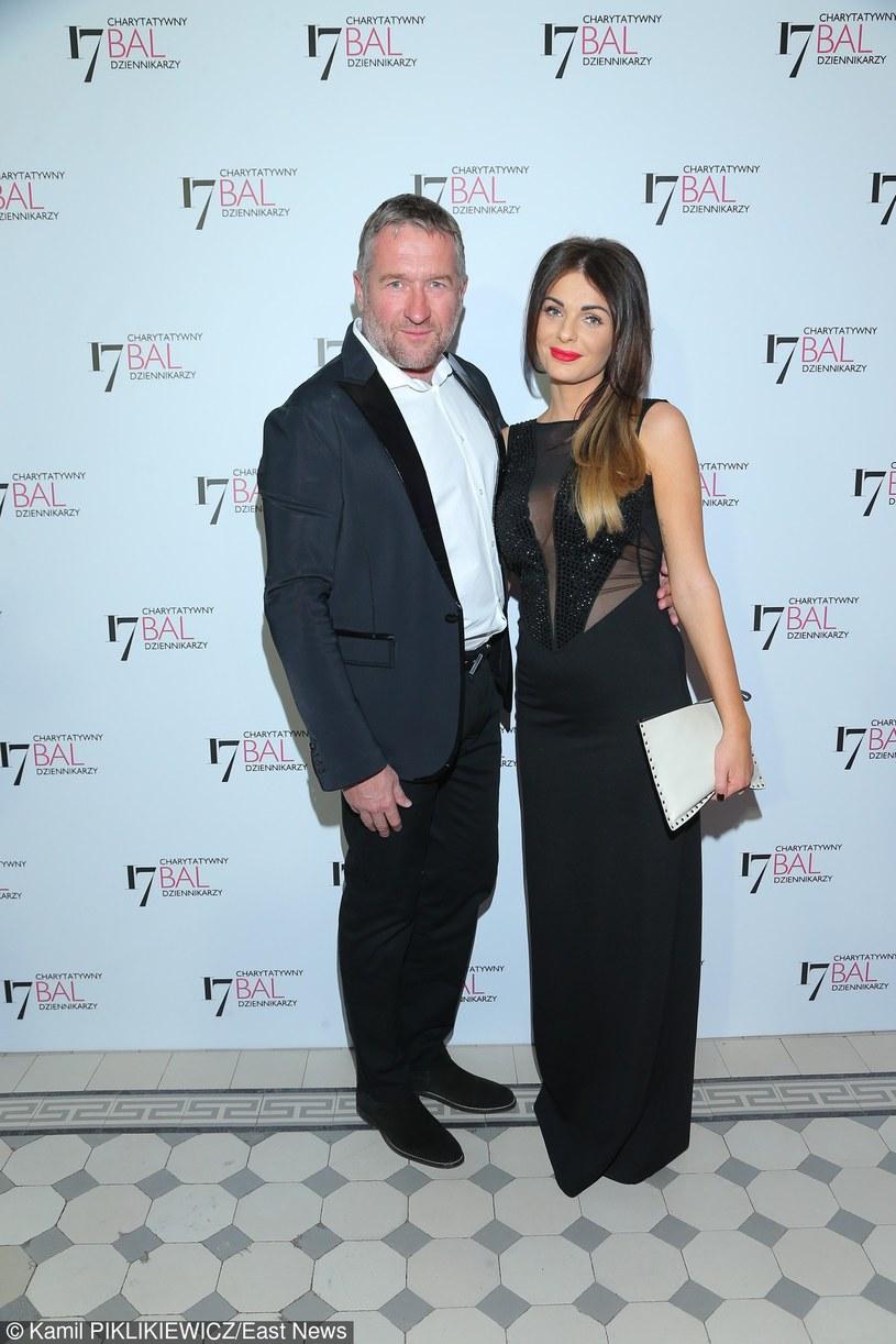 Rafał Sonik i córka milionera /East News