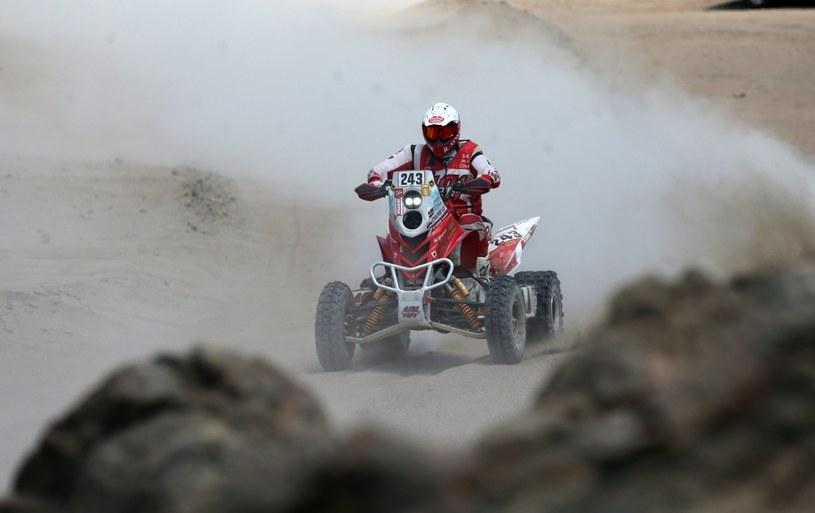 Rafał Sonik już nie jedzie w Rajdzie Dakar /PAP/EPA