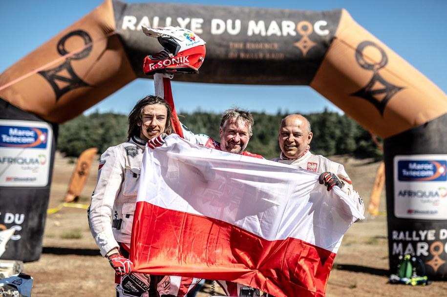 Rafał Sonik zdecydowanie wygrał ostatni etap Rajdu Maroka /Materiały prasowe