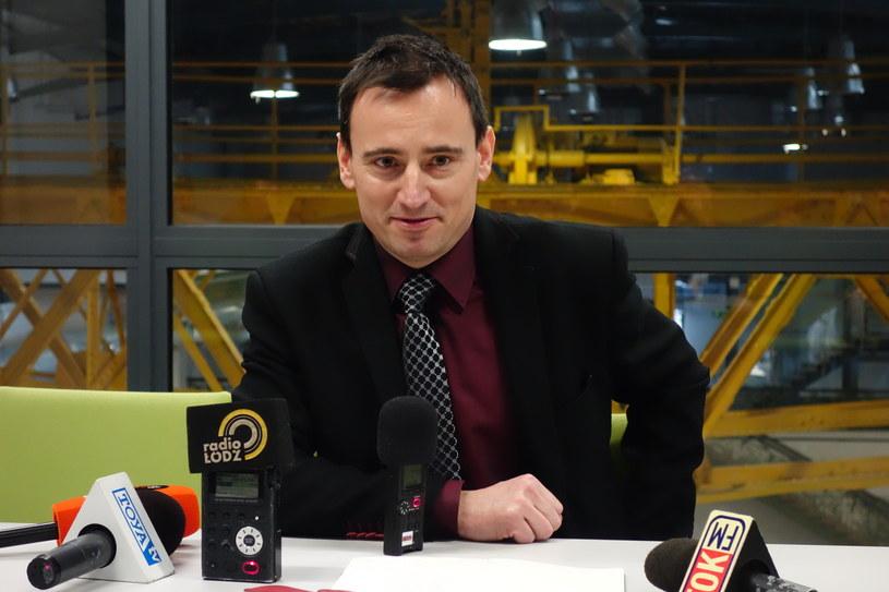 Rafał Syska - dyrektor Narodowego Centrum Kultury Filmowej (NCKF) w Łodzi /East News