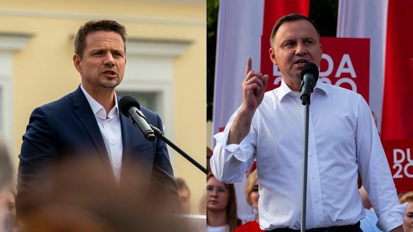 Rafał Trzaskowski i Andrzej Duda /Michał Kość /Agencja FORUM