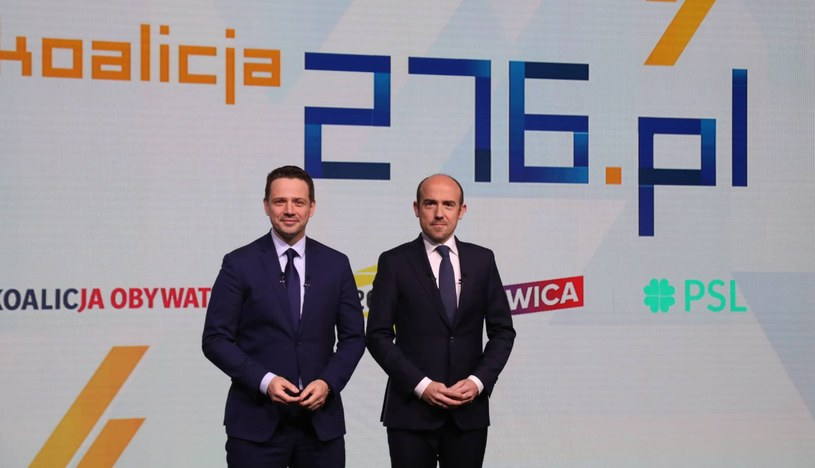 Rafał Trzaskowski i Borys Budka prezentują projekt Koalicja 276 /facebook.com