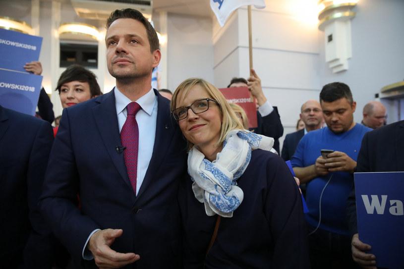Rafał Trzaskowski i Małgorzata Trzaskowska /fot. Andrzej Iwanczuk /Reporter