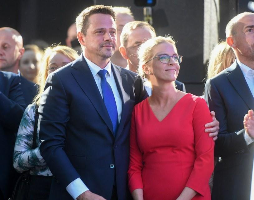 Rafał Trzaskowski i Małgorzata Trzaskowska / fot Jacek Dominski /Reporter