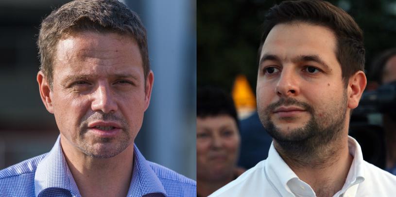 Rafał Trzaskowski i Patryk Jaki /Marek Konrad/Mariusz Grzelak /Reporter
