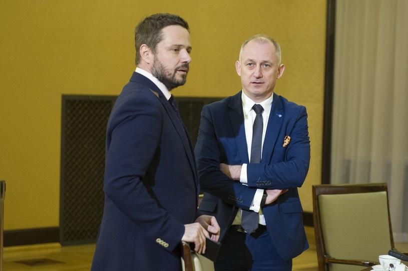 Rafał Trzaskowski i Sławomir Neumann /Jacek Domiński /Reporter