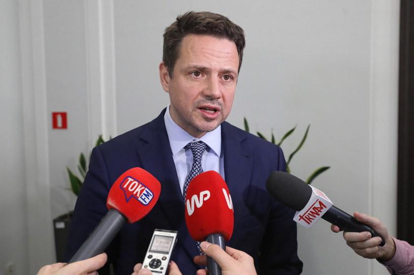Rafał Trzaskowski w Sejmie / Tomasz Gzell    /PAP
