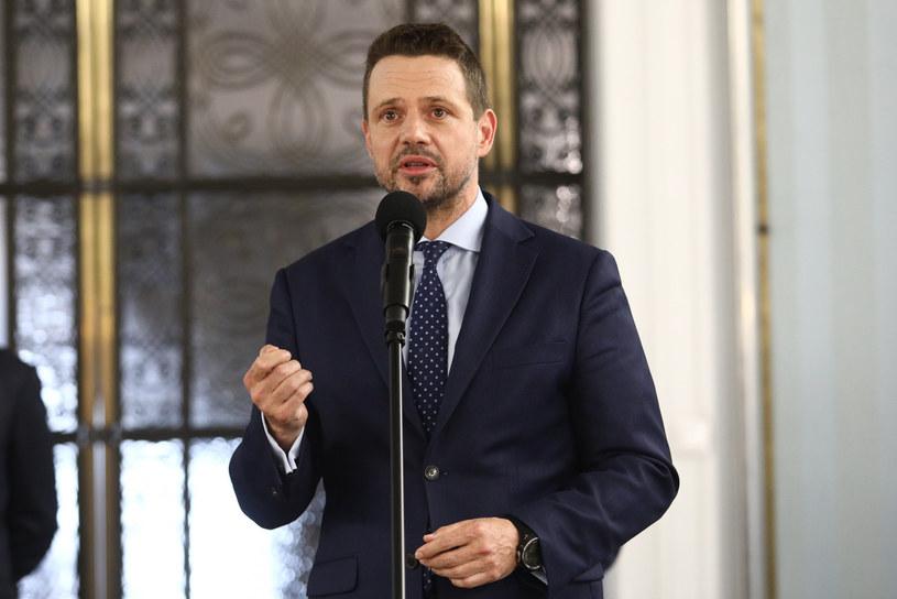 Rafał Trzaskowski /Fot Tomasz Jastrzebowski /Reporter