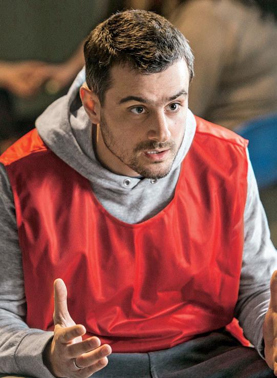 Rafał wmawia Marcie, że jest niewinny. Dowody świadczą jednak przeciwko niemu /materiały prasowe