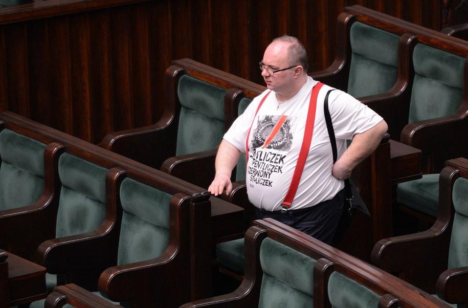 Rafał Wójcikowski w Sejmie /PAP/Jacek Turczyk /PAP
