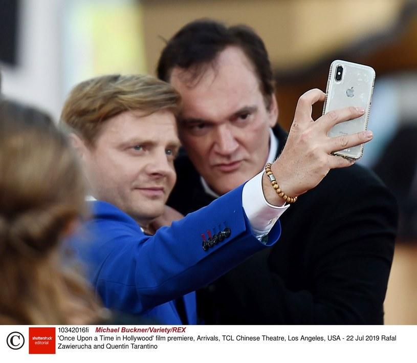Rafał Zawierucha i Quentin Tarantino /Rex Features/EAST NEWS /East News
