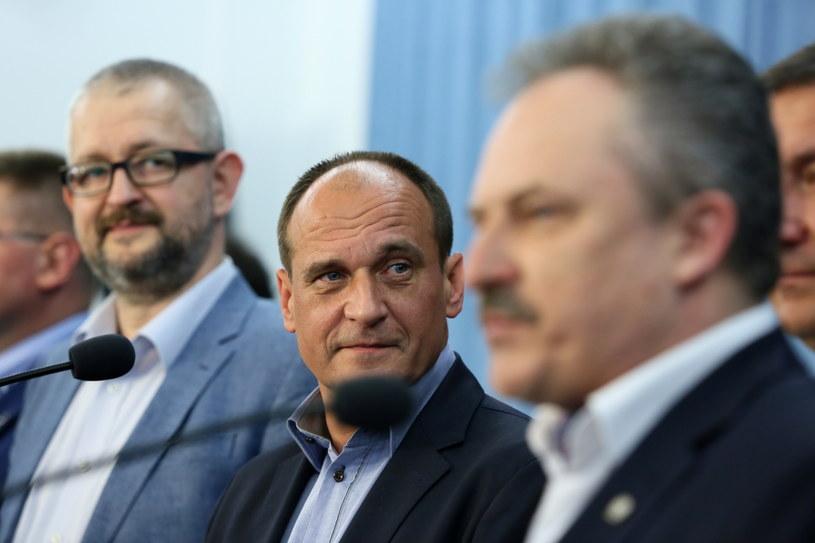 Rafał Ziemkiewicz, Paweł Kukiz, Marek Jakubiak /Tomasz Gzell /PAP