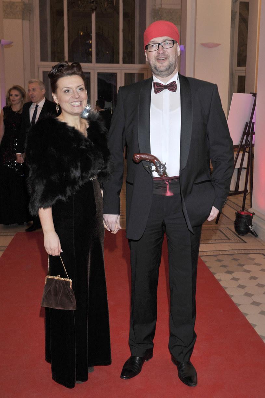 Rafał Ziemkiewicz z żoną /Kurnikowski /AKPA