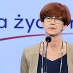Rafalska: Od nowego roku świadczenie pielęgnacyjne dla matki wyniesie 1406 zł