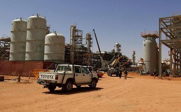 Rafineria w In Amenas /AFP