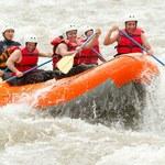 Rafting - spłyń rwąca rzeką bez trzymanki