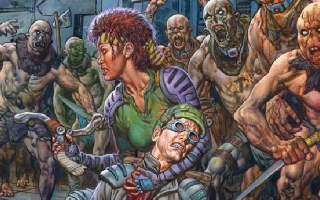 Rage - okładka komiksu /Informacja prasowa