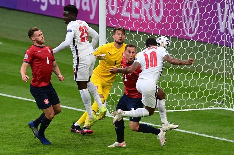 Raheem Sterling strzelał gole dla Anglików w dwóch meczach na Euro 2020 /AFP