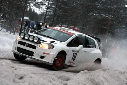 Raikkonen w Arctic Lapland Rally /