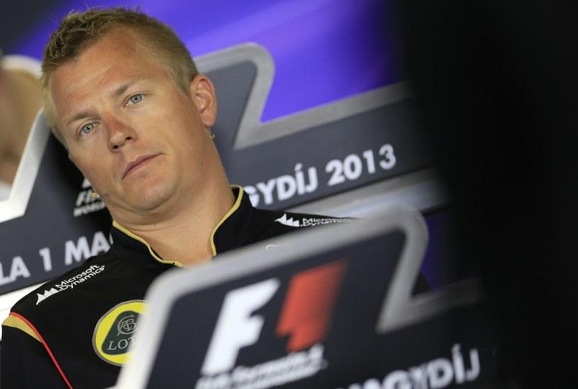 Raikkonen zmieni pracodawcę? /AFP