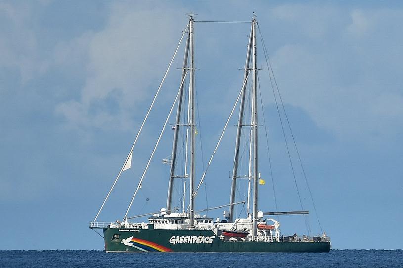 Rainbow Warrior, flagowy statek Greenpeace /Lukasz Dejnarowicz /FORUM