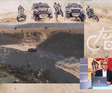 Rajd Dakar. Borowczyk: Przedziwny etap. Mało było pustyni, bardzo dużo kamieni (ELEVEN SPORTS). Wideo