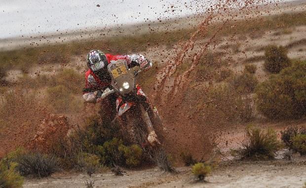 Rajd Dakar: Brabec wygrał etap, Sunderland liderem wśród motocyklistów