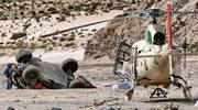 Rajd Dakar: Groźny wypadek Loeba na 8. etapie. Świetnie pojechał Przygoński
