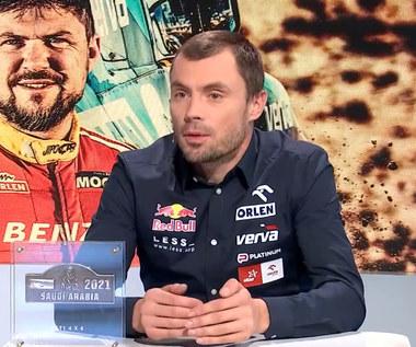 Rajd Dakar. Jakub Przygoński: Niektórzy kierowcy ścigają się dłużej niż ja żyję (POLSAT SPORT). Wideo