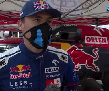 Rajd Dakar. Jakub Przygoński po 6. etapie (POLSAT SPORT). Wideo
